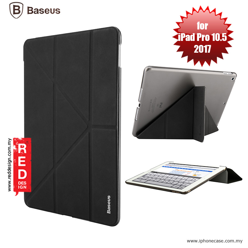 Picture of Baseus Simplism Y - Type Standable Case for Apple iPad Pro 10.5 2017 - Black Apple iPad Pro 10.5 2017- Apple iPad Pro 10.5 2017 Cases, Apple iPad Pro 10.5 2017 Covers, iPad Cases and a wide selection of Apple iPad Pro 10.5 2017 Accessories in Malaysia, Sabah, Sarawak and Singapore