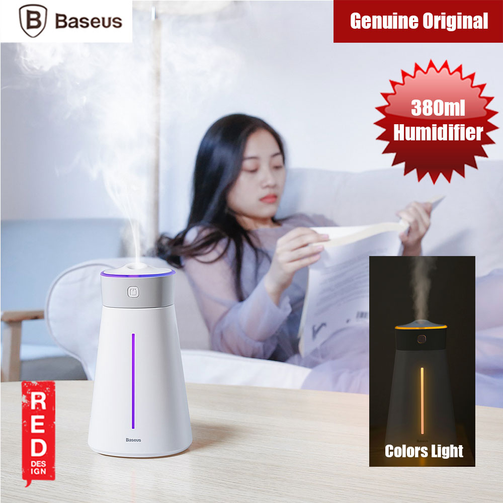 Picture of Baseus Humidifier 380ml (White) Red Design- Red Design Cases, Red Design Covers, iPad Cases and a wide selection of Red Design Accessories in Malaysia, Sabah, Sarawak and Singapore