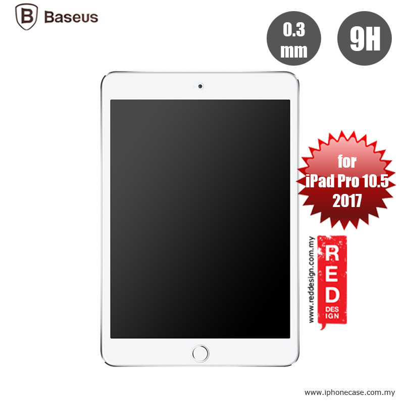 Picture of Baseus Tempered Glass for Apple iPad Pro 10.5 2017 - 0.3mm Apple iPad Pro 10.5 2017- Apple iPad Pro 10.5 2017 Cases, Apple iPad Pro 10.5 2017 Covers, iPad Cases and a wide selection of Apple iPad Pro 10.5 2017 Accessories in Malaysia, Sabah, Sarawak and Singapore