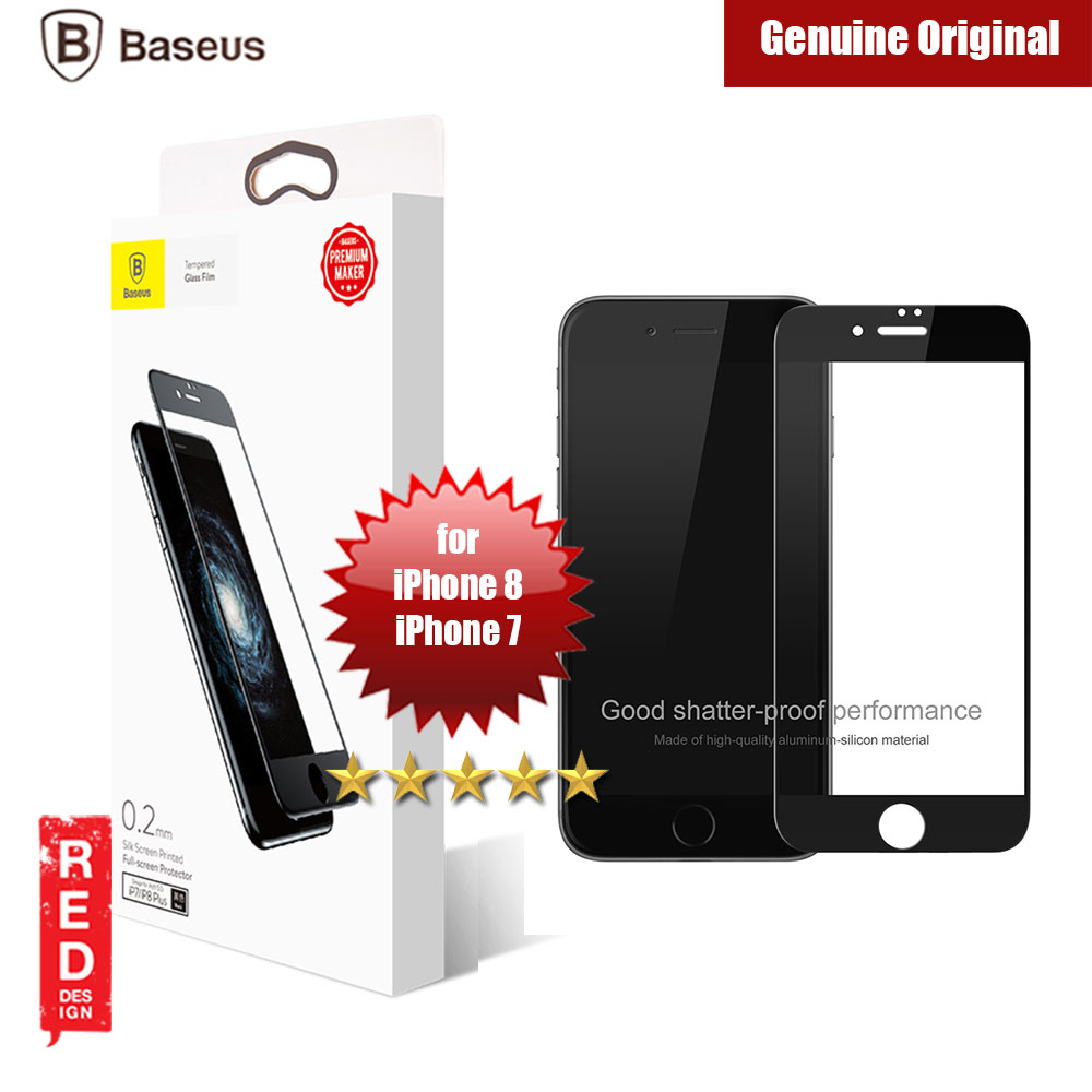Picture of Baseus Ultra Thin Full Screen Tempered Glass for Apple iPhone 7 iPhone 8 2.5D 0.2mm (Black) Apple iPhone 7 4.7- Apple iPhone 7 4.7 Cases, Apple iPhone 7 4.7 Covers, iPad Cases and a wide selection of Apple iPhone 7 4.7 Accessories in Malaysia, Sabah, Sarawak and Singapore