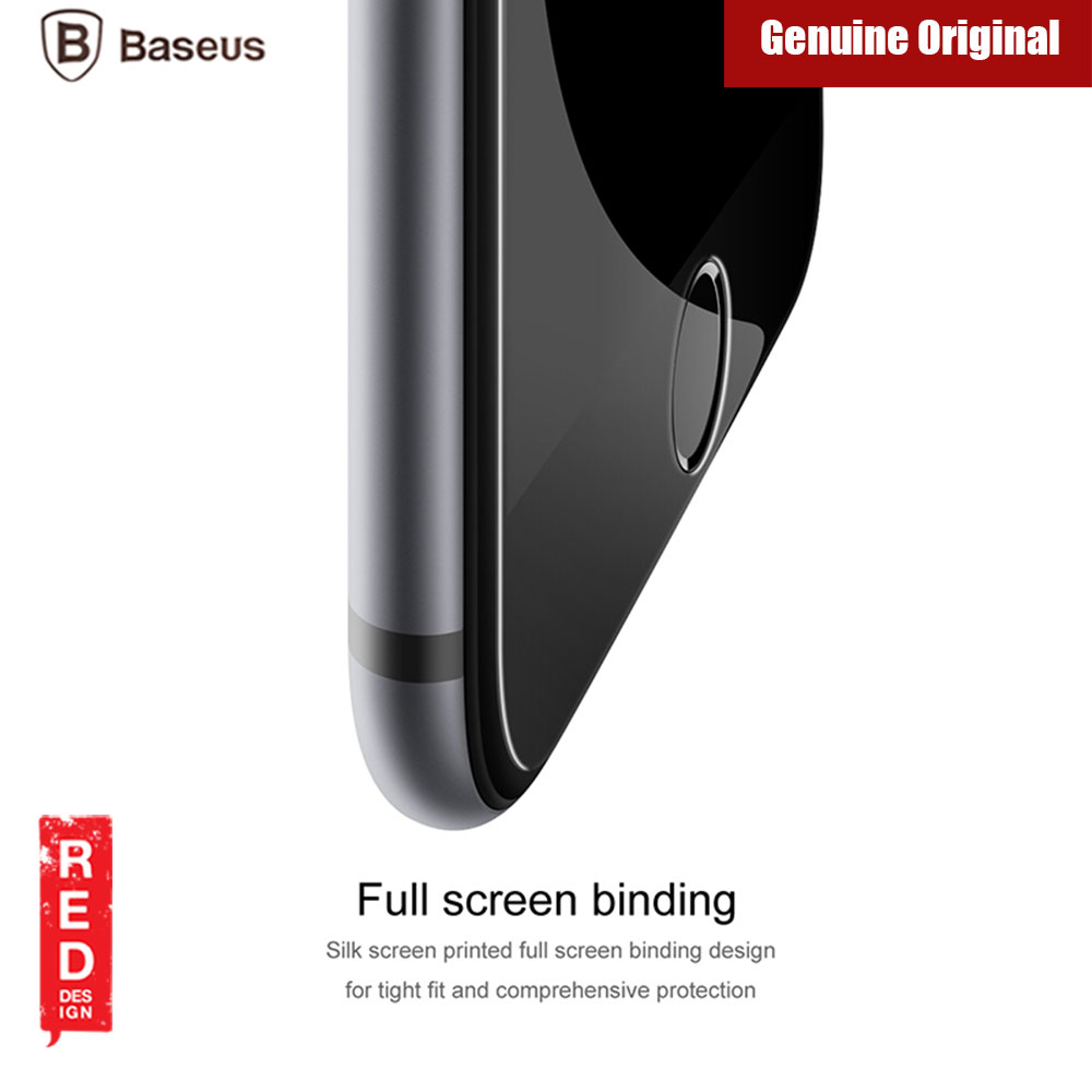 Baseus Ultra Thin Full Screen Tempered Glass for Apple iPhone 7 iPhone 8  2 5D 0 2mm (Black)