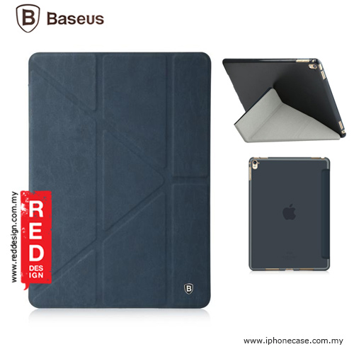Picture of Baseus Terse Leather Y Stand Case for iPad Pro 9.7 - Navy Blue Apple iPad Pro 9.7- Apple iPad Pro 9.7 Cases, Apple iPad Pro 9.7 Covers, iPad Cases and a wide selection of Apple iPad Pro 9.7 Accessories in Malaysia, Sabah, Sarawak and Singapore