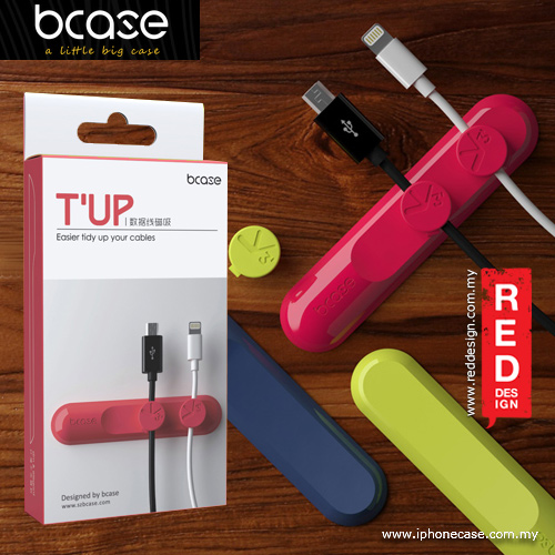 Picture of bcase cables magnetic organizer - Pink Red Design- Red Design Cases, Red Design Covers, iPad Cases and a wide selection of Red Design Accessories in Malaysia, Sabah, Sarawak and Singapore