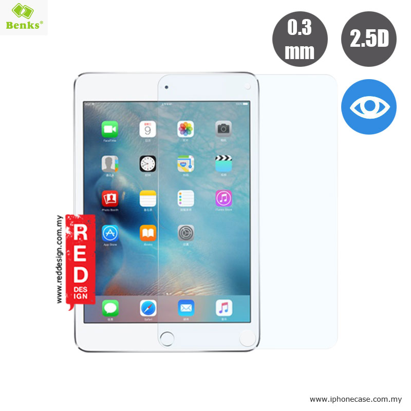 Picture of Benks Tempered Glass for Apple iPad Mini 4 - Anti Blue Ray 0.3mm Apple iPad Mini 4- Apple iPad Mini 4 Cases, Apple iPad Mini 4 Covers, iPad Cases and a wide selection of Apple iPad Mini 4 Accessories in Malaysia, Sabah, Sarawak and Singapore