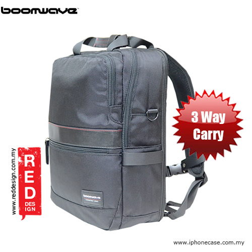"Picture of Boomwave 3 Way Carry Convertible Series Business 14"" Laptop Bag - CS001 Red Design- Red Design Cases, Red Design Covers, iPad Cases and a wide selection of Red Design Accessories in Malaysia, Sabah, Sarawak and Singapore"