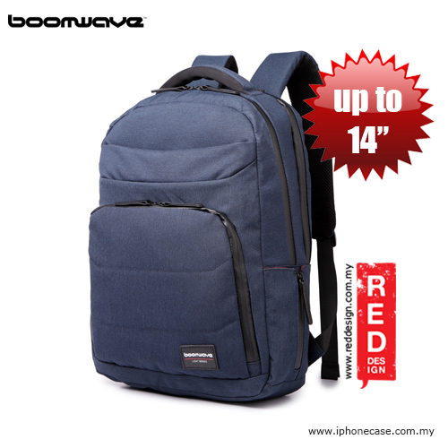 "Picture of Boomwave Light Series Backpack for laptop up to 14"" - Dark Blue Red Design- Red Design Cases, Red Design Covers, iPad Cases and a wide selection of Red Design Accessories in Malaysia, Sabah, Sarawak and Singapore"