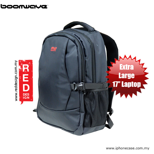 "Picture of Boomwave Excell Series Extra Large 17"" Laptop Bag - XL001 Red Design- Red Design Cases, Red Design Covers, iPad Cases and a wide selection of Red Design Accessories in Malaysia, Sabah, Sarawak and Singapore"