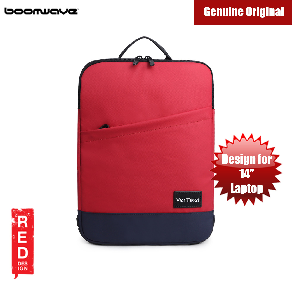 Picture of Boomwave  Vertikel Laptop Sleeve Design up to 14 inches Laptop (Red) Red Design- Red Design Cases, Red Design Covers, iPad Cases and a wide selection of Red Design Accessories in Malaysia, Sabah, Sarawak and Singapore