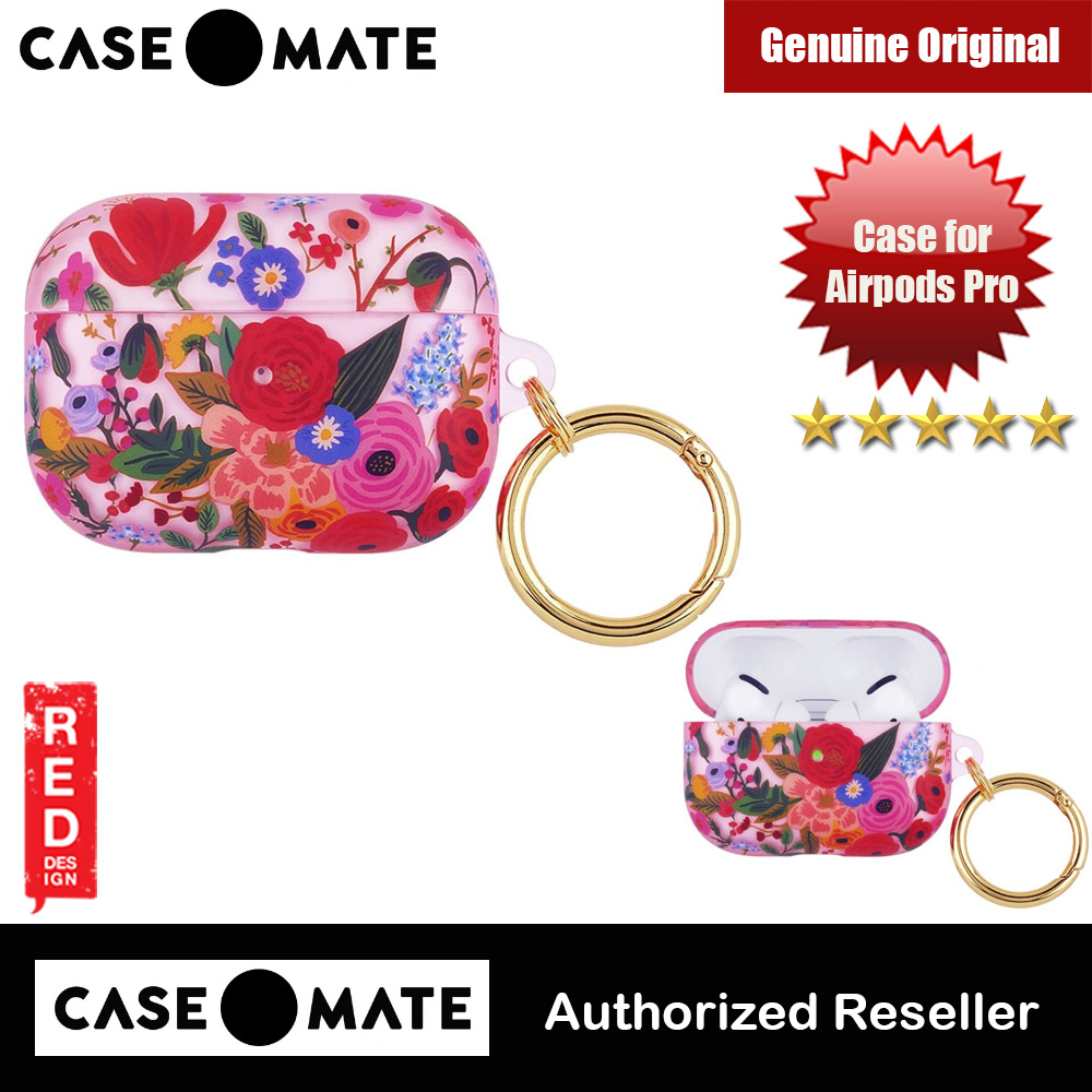 Picture of Case-Mate Case Mate AirPods Pro Airpodspro Airpod Pro AirpodPro Case Rifle Paper Co (Garden Party Blush) Apple Airpods Pro- Apple Airpods Pro Cases, Apple Airpods Pro Covers, iPad Cases and a wide selection of Apple Airpods Pro Accessories in Malaysia, Sabah, Sarawak and Singapore