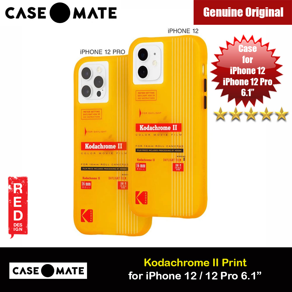 Picture of Case Mate Kodak Series Drop Protection Case for iPhone 12 iPhone 12 Pro 6.1 (Vintage Yellow with Micropel) Apple iPhone 12 6.1- Apple iPhone 12 6.1 Cases, Apple iPhone 12 6.1 Covers, iPad Cases and a wide selection of Apple iPhone 12 6.1 Accessories in Malaysia, Sabah, Sarawak and Singapore