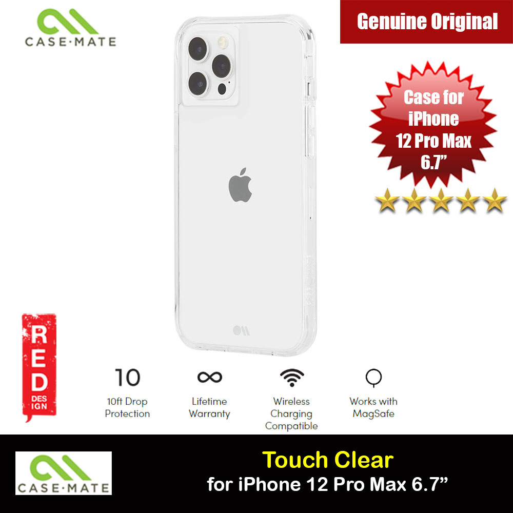 Picture of Case Mate Tough Clear Series Drop Protection Case for iPhone 12 Pro Max 6.7 (Clear) Apple iPhone 11 Pro Max 6.5- Apple iPhone 11 Pro Max 6.5 Cases, Apple iPhone 11 Pro Max 6.5 Covers, iPad Cases and a wide selection of Apple iPhone 11 Pro Max 6.5 Accessories in Malaysia, Sabah, Sarawak and Singapore