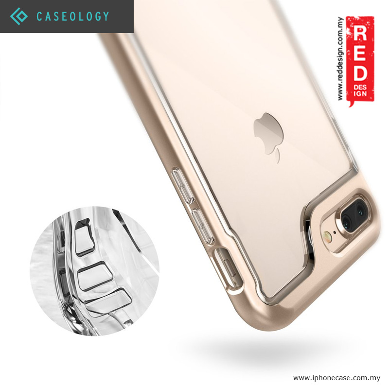 Picture of Apple iPhone 8 Plus  | Caseology Skyfall Fashion Protection Case for Apple iPhone 7 Plus iPhone 8 Plus 5.5 - Gold