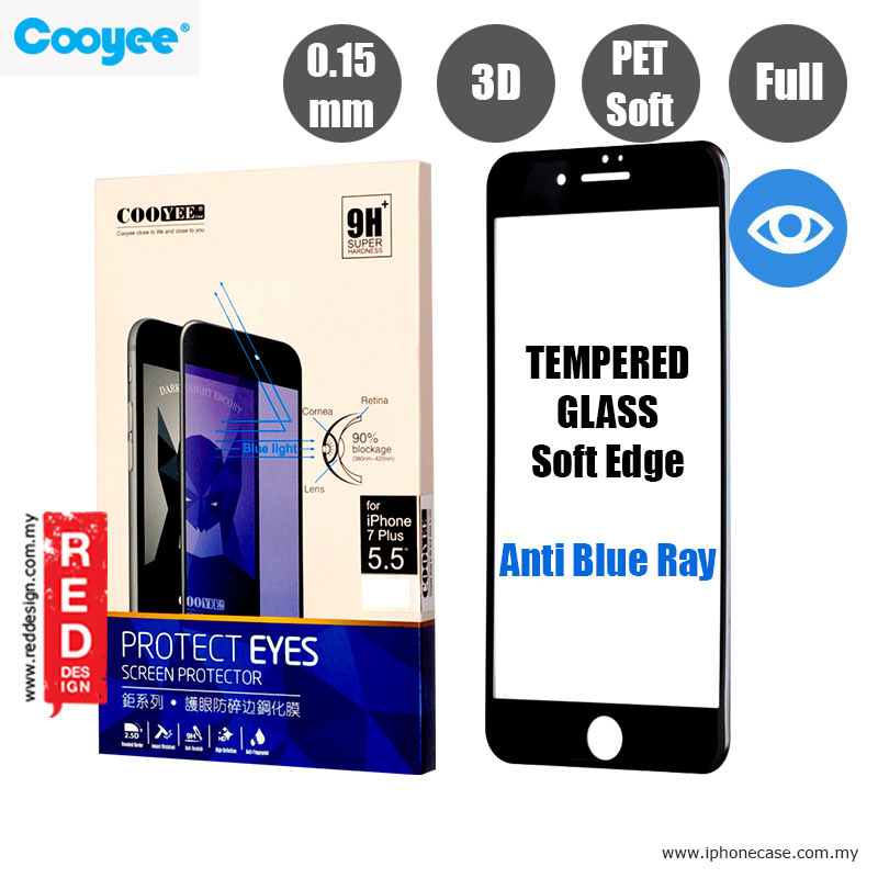 Picture of Cooyee Series Ultra Thin Full Screen Tempered Glass for Apple iPhone 7 Plus iPhone 8 Plus 5.5 PET Soft 3D Curve 0.15 mm Anti Blue Ray - Black Apple iPhone 8 Plus- Apple iPhone 8 Plus Cases, Apple iPhone 8 Plus Covers, iPad Cases and a wide selection of Apple iPhone 8 Plus Accessories in Malaysia, Sabah, Sarawak and Singapore