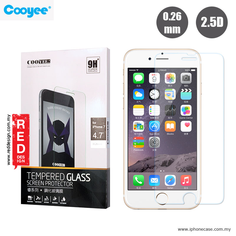 Picture of Cooyee Tempered Glass for Apple iPhone 7 iPhone 8 4.7 - 0.26mm Apple iPhone 8- Apple iPhone 8 Cases, Apple iPhone 8 Covers, iPad Cases and a wide selection of Apple iPhone 8 Accessories in Malaysia, Sabah, Sarawak and Singapore