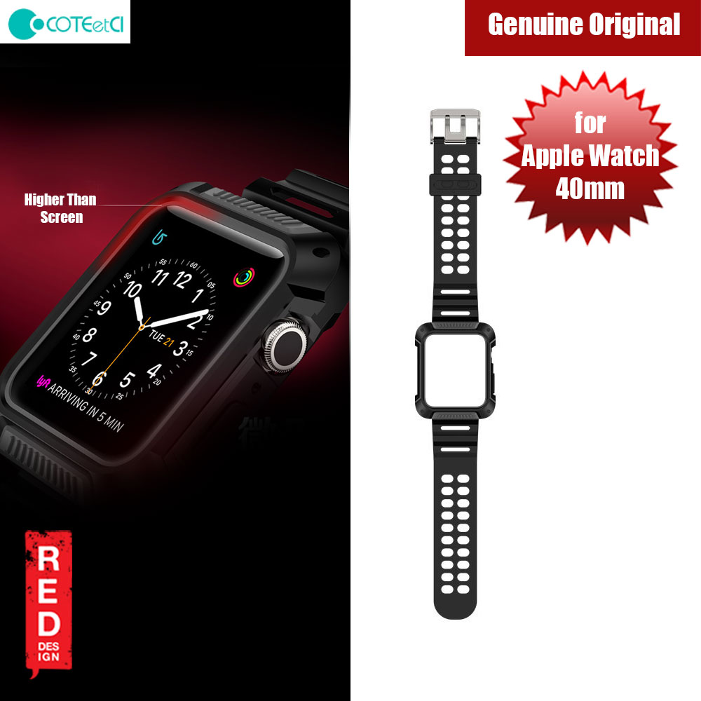 Picture of COTEetCI TPU and PC integrated Watch Case Band for Apple Watch 40mm (Black Grey) Apple Watch 40mm- Apple Watch 40mm Cases, Apple Watch 40mm Covers, iPad Cases and a wide selection of Apple Watch 40mm Accessories in Malaysia, Sabah, Sarawak and Singapore