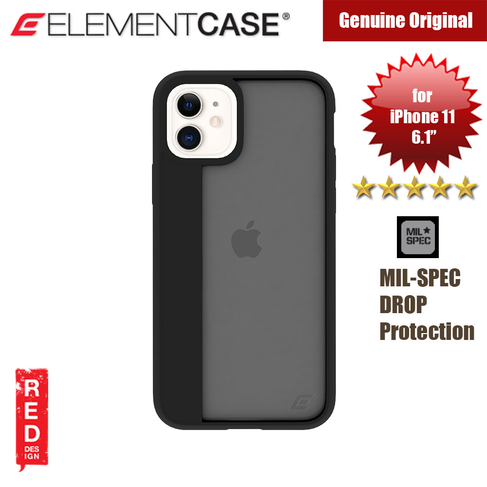 Picture of Element Case Illusion Drop Protection Case for Apple iPhone 11 6.1 (Black) Apple iPhone 11 6.1- Apple iPhone 11 6.1 Cases, Apple iPhone 11 6.1 Covers, iPad Cases and a wide selection of Apple iPhone 11 6.1 Accessories in Malaysia, Sabah, Sarawak and Singapore