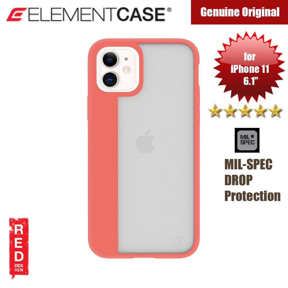 Picture of Element Case Illusion Drop Protection Case for Apple iPhone 11 6.1 (Coral) Apple iPhone 11 6.1- Apple iPhone 11 6.1 Cases, Apple iPhone 11 6.1 Covers, iPad Cases and a wide selection of Apple iPhone 11 6.1 Accessories in Malaysia, Sabah, Sarawak and Singapore