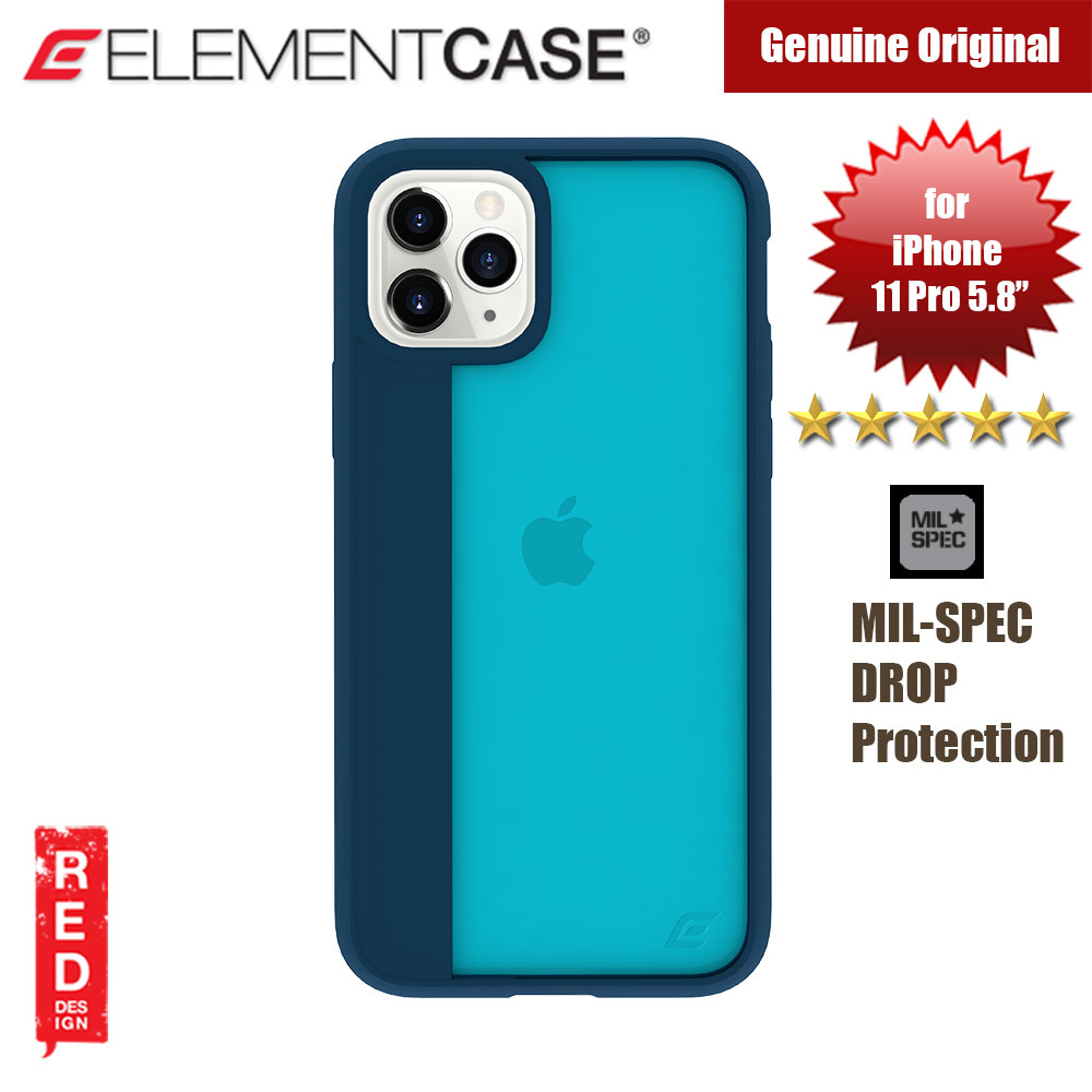 Picture of Element Case Illusion Drop Protection Case for Apple iPhone 11 Pro 5.8 (Deep Sea) Apple iPhone 11 Pro 5.8- Apple iPhone 11 Pro 5.8 Cases, Apple iPhone 11 Pro 5.8 Covers, iPad Cases and a wide selection of Apple iPhone 11 Pro 5.8 Accessories in Malaysia, Sabah, Sarawak and Singapore