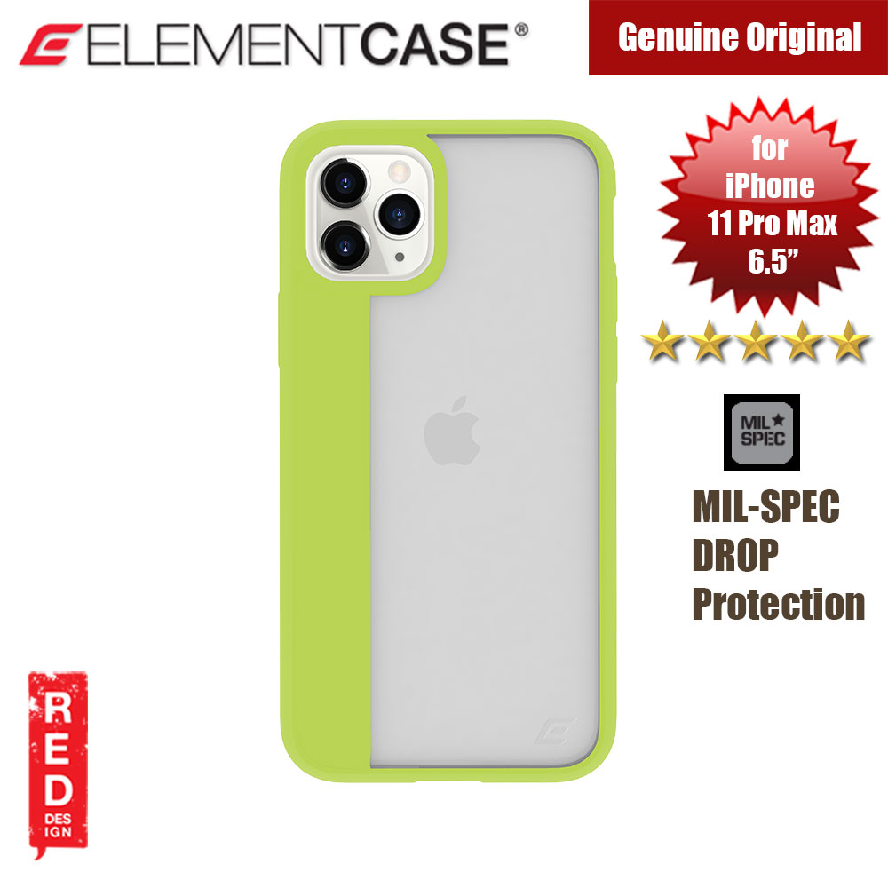 Picture of Element Case Illusion Drop Protection Case for Apple iPhone 11 Pro Max 6.5 (Electric Kiwi) Apple iPhone 11 Pro Max 6.5- Apple iPhone 11 Pro Max 6.5 Cases, Apple iPhone 11 Pro Max 6.5 Covers, iPad Cases and a wide selection of Apple iPhone 11 Pro Max 6.5 Accessories in Malaysia, Sabah, Sarawak and Singapore