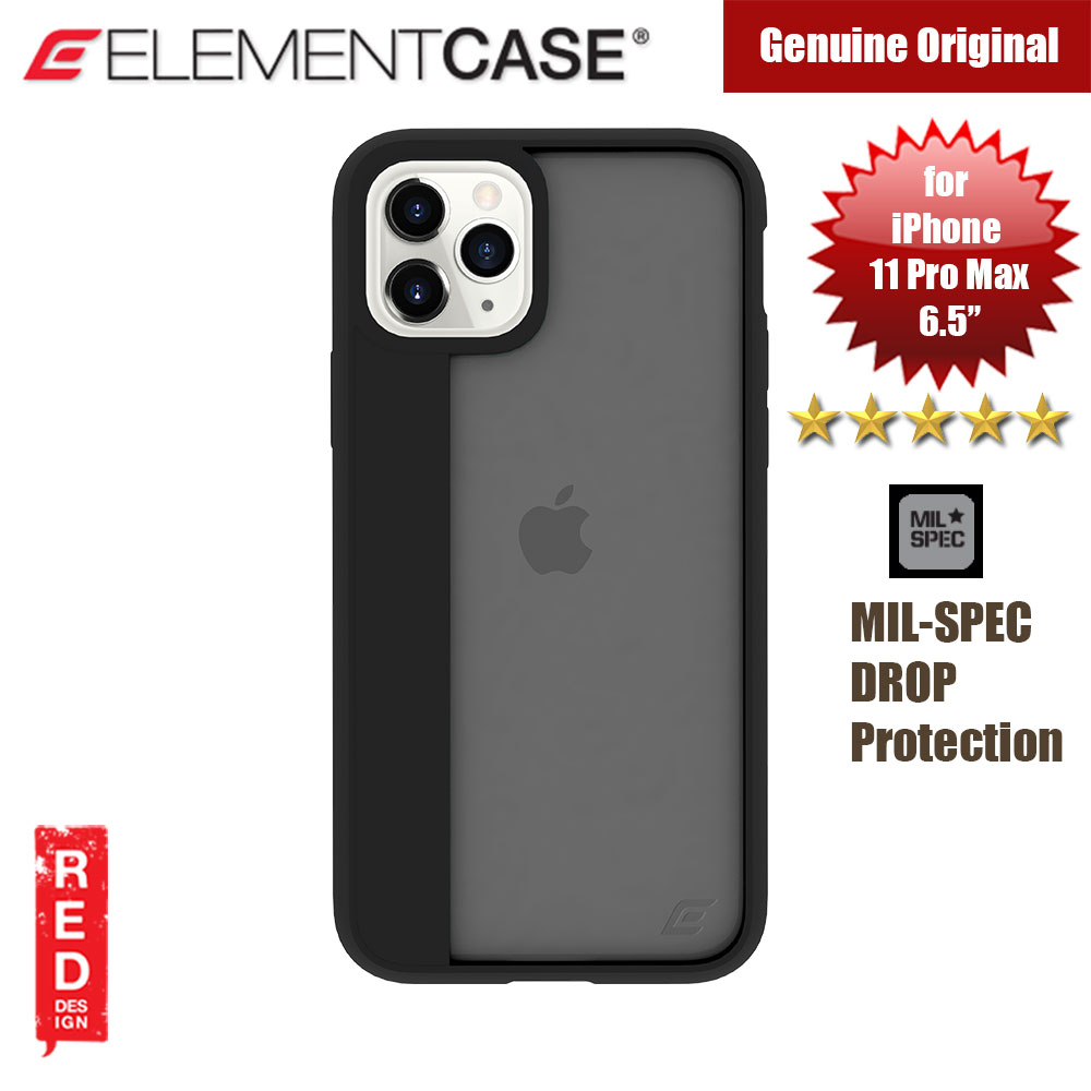 Picture of Element Case Illusion Drop Protection Case for Apple iPhone 11 Pro Max 6.5 (Black) Apple iPhone 11 Pro Max 6.5- Apple iPhone 11 Pro Max 6.5 Cases, Apple iPhone 11 Pro Max 6.5 Covers, iPad Cases and a wide selection of Apple iPhone 11 Pro Max 6.5 Accessories in Malaysia, Sabah, Sarawak and Singapore