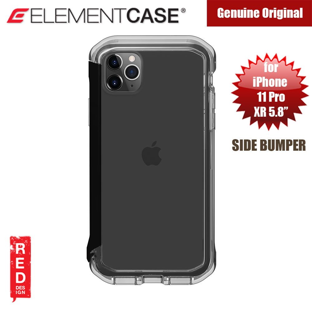 Picture of Element Case Rail Series Drop Protection Bumper for iPhone 11 Pro iPhone XS iPhone X 5.8 (Black Clear) Apple iPhone XS- Apple iPhone XS Cases, Apple iPhone XS Covers, iPad Cases and a wide selection of Apple iPhone XS Accessories in Malaysia, Sabah, Sarawak and Singapore