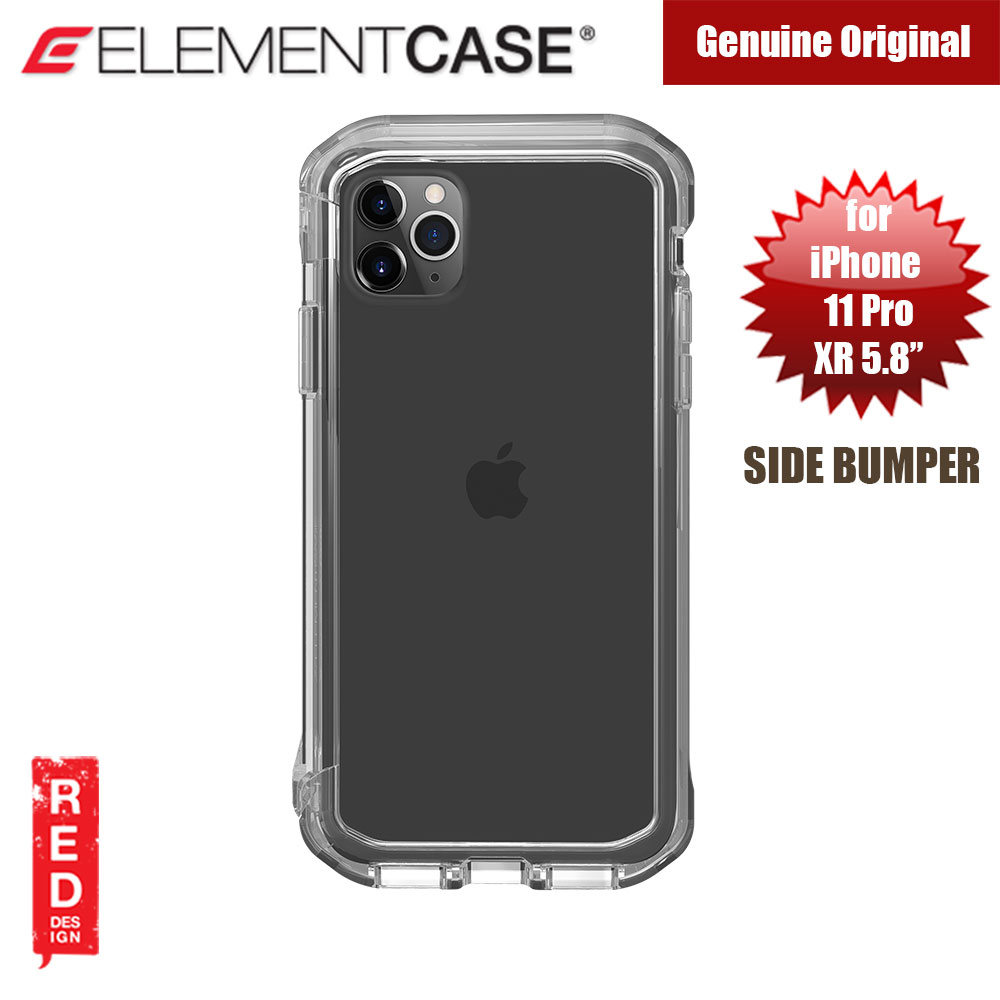 Picture of Element Case Rail Series Drop Protection Bumper for iPhone 11 Pro iPhone XS iPhone X 5.8 (Clear) Apple iPhone 11 Pro 5.8- Apple iPhone 11 Pro 5.8 Cases, Apple iPhone 11 Pro 5.8 Covers, iPad Cases and a wide selection of Apple iPhone 11 Pro 5.8 Accessories in Malaysia, Sabah, Sarawak and Singapore
