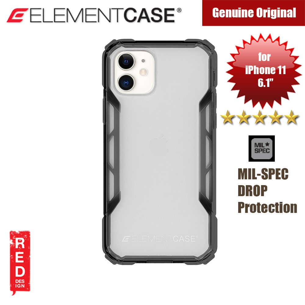 Picture of Element Case Rally Drop Protection Case for Apple iPhone 11 6.1 (Black) Apple iPhone 11 6.1- Apple iPhone 11 6.1 Cases, Apple iPhone 11 6.1 Covers, iPad Cases and a wide selection of Apple iPhone 11 6.1 Accessories in Malaysia, Sabah, Sarawak and Singapore