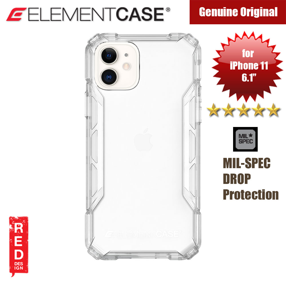 Picture of Element Case Rally Drop Protection Case for Apple iPhone 11 6.1 (Clear) Apple iPhone 11 6.1- Apple iPhone 11 6.1 Cases, Apple iPhone 11 6.1 Covers, iPad Cases and a wide selection of Apple iPhone 11 6.1 Accessories in Malaysia, Sabah, Sarawak and Singapore