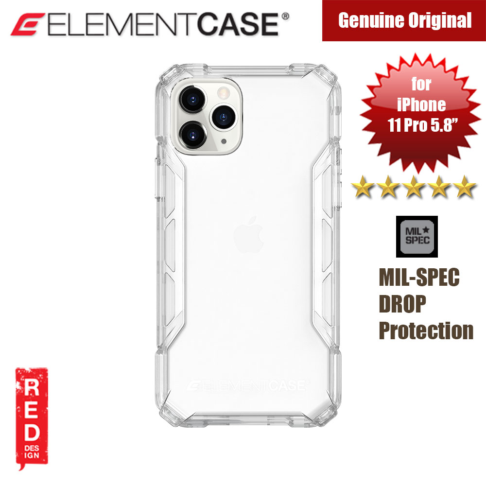 Picture of Element Case Rally Drop Protection Case for Apple iPhone 11 Pro 5.8 (Clear) Apple iPhone 11 Pro 5.8- Apple iPhone 11 Pro 5.8 Cases, Apple iPhone 11 Pro 5.8 Covers, iPad Cases and a wide selection of Apple iPhone 11 Pro 5.8 Accessories in Malaysia, Sabah, Sarawak and Singapore
