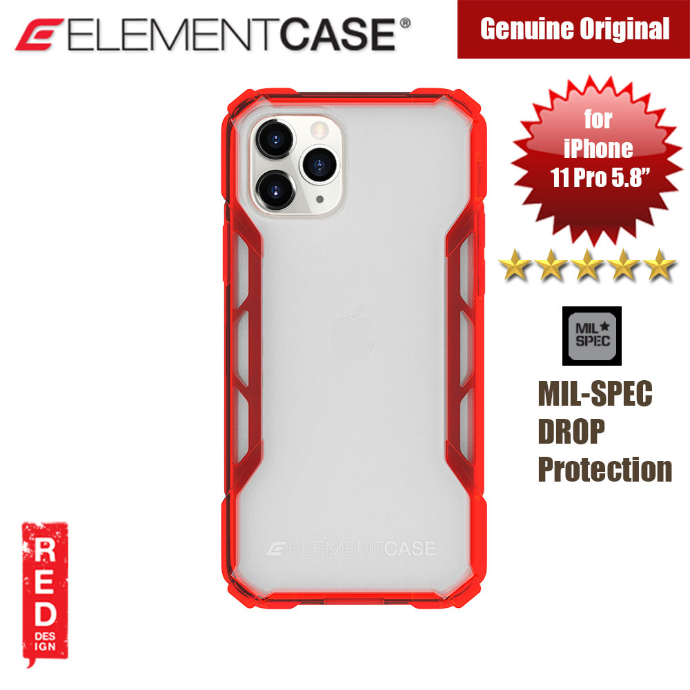Picture of Element Case Rally Drop Protection Case for Apple iPhone 11 Pro 5.8 (Sunset Red) Apple iPhone 11 Pro 5.8- Apple iPhone 11 Pro 5.8 Cases, Apple iPhone 11 Pro 5.8 Covers, iPad Cases and a wide selection of Apple iPhone 11 Pro 5.8 Accessories in Malaysia, Sabah, Sarawak and Singapore