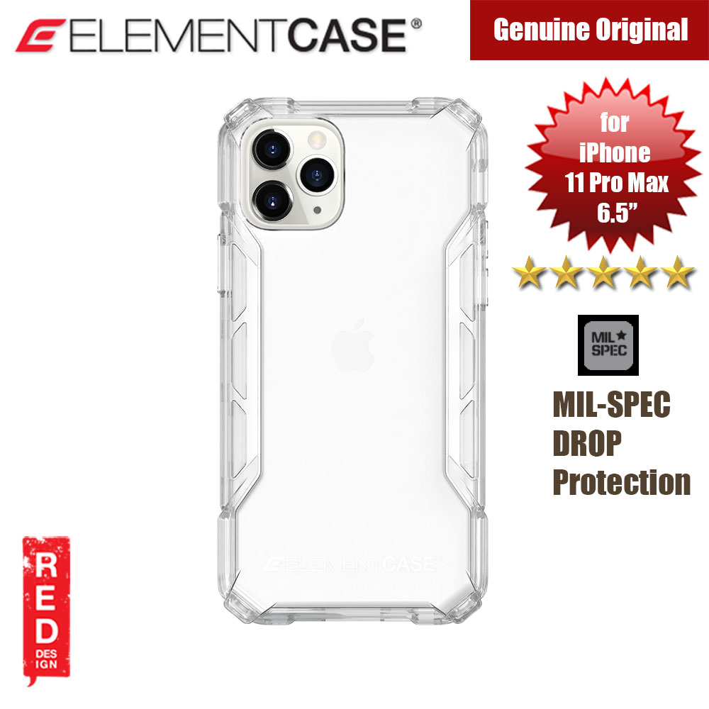 Picture of Element Case Rally Drop Protection Case for Apple iPhone 11 Pro Max 6.5 (Clear) Apple iPhone 11 Pro Max 6.5- Apple iPhone 11 Pro Max 6.5 Cases, Apple iPhone 11 Pro Max 6.5 Covers, iPad Cases and a wide selection of Apple iPhone 11 Pro Max 6.5 Accessories in Malaysia, Sabah, Sarawak and Singapore