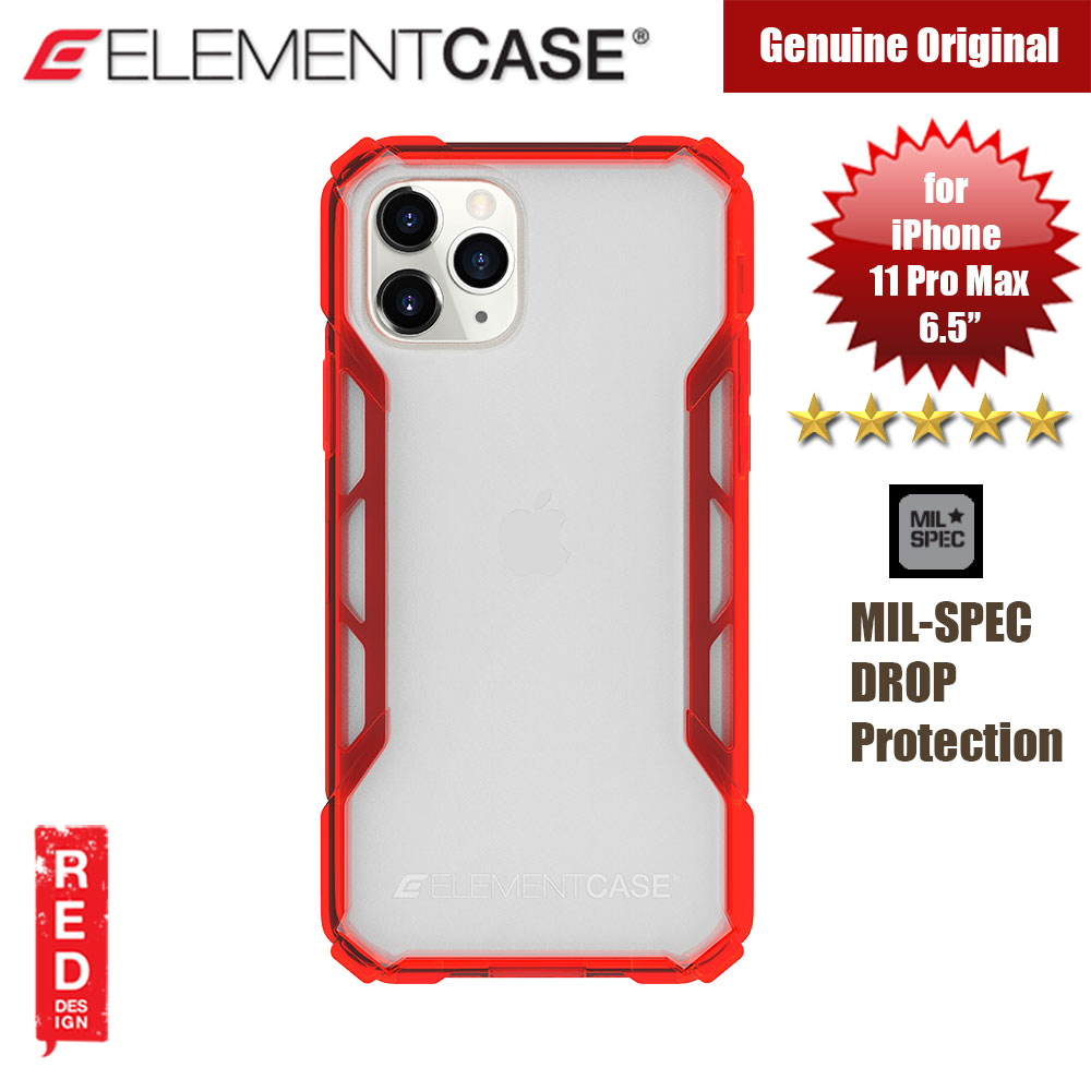 Picture of Element Case Rally Drop Protection Case for Apple iPhone 11 Pro Max 6.5 (Sunset Red) Apple iPhone 11 Pro Max 6.5- Apple iPhone 11 Pro Max 6.5 Cases, Apple iPhone 11 Pro Max 6.5 Covers, iPad Cases and a wide selection of Apple iPhone 11 Pro Max 6.5 Accessories in Malaysia, Sabah, Sarawak and Singapore