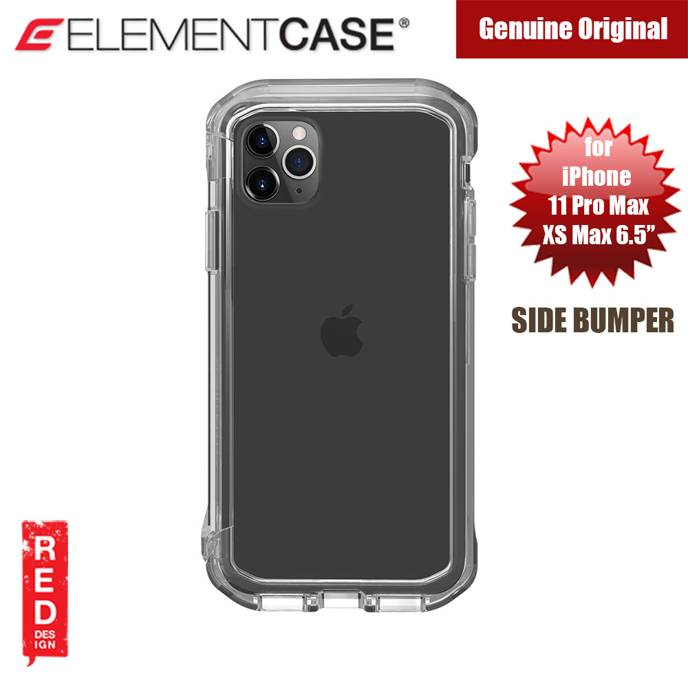 Picture of Element Case Rail Series Drop Protection Bumper for iPhone 11 Pro Max iPhone XS Max 6.5 (Clear) Apple iPhone 11 Pro Max 6.5- Apple iPhone 11 Pro Max 6.5 Cases, Apple iPhone 11 Pro Max 6.5 Covers, iPad Cases and a wide selection of Apple iPhone 11 Pro Max 6.5 Accessories in Malaysia, Sabah, Sarawak and Singapore