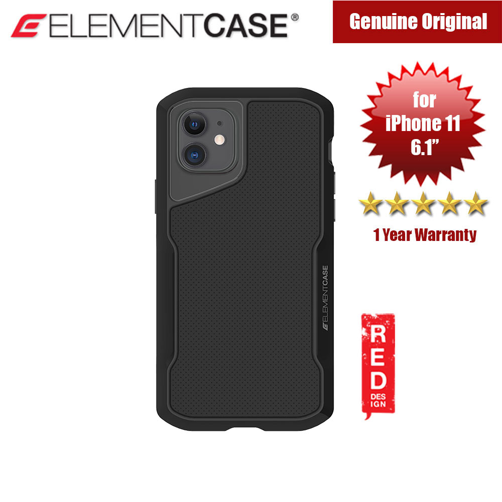 Picture of Element Case Shadow Series Drop Protection Case for iPhone 11 6.1 (Black) Apple iPhone 11 6.1- Apple iPhone 11 6.1 Cases, Apple iPhone 11 6.1 Covers, iPad Cases and a wide selection of Apple iPhone 11 6.1 Accessories in Malaysia, Sabah, Sarawak and Singapore