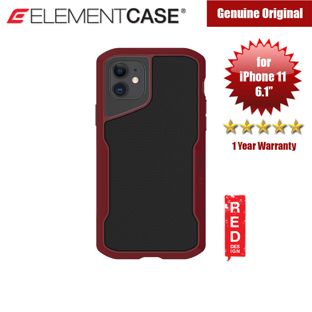 Picture of Element Case Shadow Series Drop Protection Case for iPhone 11 6.1 (Oxblood) Apple iPhone 11 6.1- Apple iPhone 11 6.1 Cases, Apple iPhone 11 6.1 Covers, iPad Cases and a wide selection of Apple iPhone 11 6.1 Accessories in Malaysia, Sabah, Sarawak and Singapore