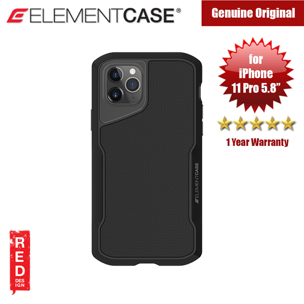 Picture of Element Case Shadow Series Drop Protection Case for iPhone 11 Pro 5.8 (Black) Apple iPhone 11 Pro 5.8- Apple iPhone 11 Pro 5.8 Cases, Apple iPhone 11 Pro 5.8 Covers, iPad Cases and a wide selection of Apple iPhone 11 Pro 5.8 Accessories in Malaysia, Sabah, Sarawak and Singapore