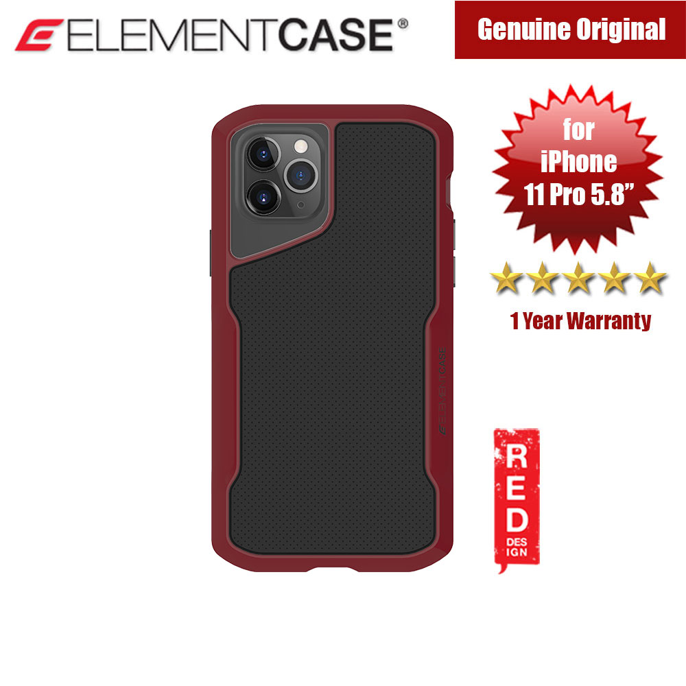 Picture of Element Case Shadow Series Drop Protection Case for iPhone 11 Pro 5.8 (OxBlood) Apple iPhone 11 Pro 5.8- Apple iPhone 11 Pro 5.8 Cases, Apple iPhone 11 Pro 5.8 Covers, iPad Cases and a wide selection of Apple iPhone 11 Pro 5.8 Accessories in Malaysia, Sabah, Sarawak and Singapore