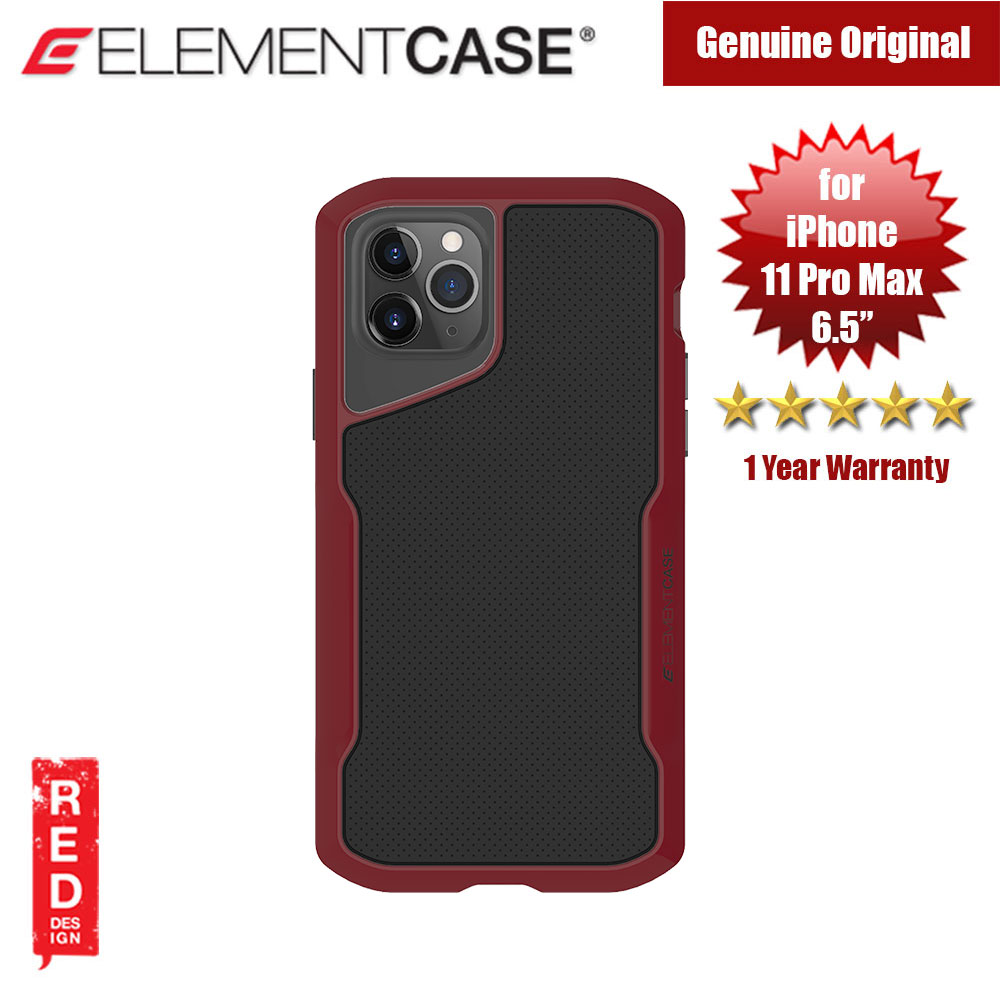 Picture of Element Case Shadow Series Drop Protection Case for iPhone 11 Pro Max 6.5 (Oxblood) Apple iPhone 11 Pro Max 6.5- Apple iPhone 11 Pro Max 6.5 Cases, Apple iPhone 11 Pro Max 6.5 Covers, iPad Cases and a wide selection of Apple iPhone 11 Pro Max 6.5 Accessories in Malaysia, Sabah, Sarawak and Singapore