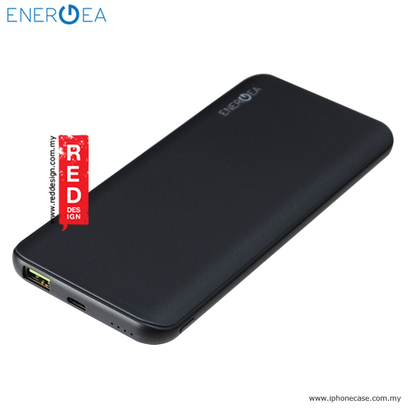 Picture of Energea Enerpac 10000C Power Bank with USB and USB-C Quick Charge 3.0 - Gunmetal