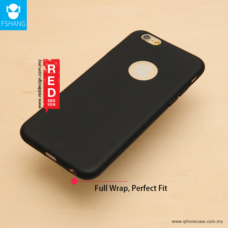 Picture of Apple iPhone 6 Plus 5.5 Case | Fshang Soft Color Ultra Slim Case for Apple iPhone 6S Plus 5.5 - Black