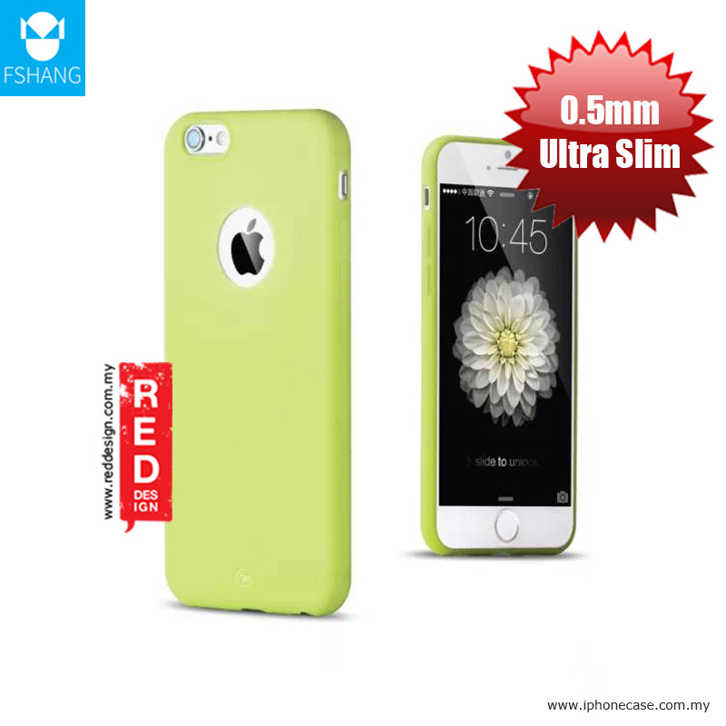 Picture of Apple iPhone 6S 4.7 Case | Fshang Soft Color Ultra Slim Case for Apple iPhone 6 iPhone 6S - Green