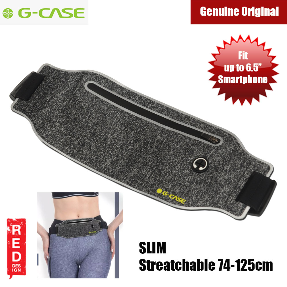Picture of Gcase Niki Series Sport Waist Bag Compatible with Samsung Galaxy Note 9 Huawei Mate 20 Pro iPhone XR XS XS Max (Black) Red Design- Red Design Cases, Red Design Covers, iPad Cases and a wide selection of Red Design Accessories in Malaysia, Sabah, Sarawak and Singapore