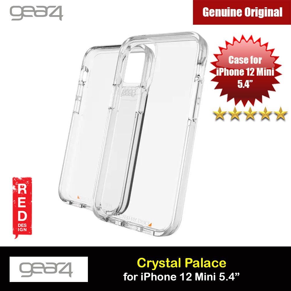 Picture of Gear4 D30 Crystal Palace Drop Protection Case for iPhone 12 Mini 5.4 (Clear) Apple iPhone 12 mini 5.4- Apple iPhone 12 mini 5.4 Cases, Apple iPhone 12 mini 5.4 Covers, iPad Cases and a wide selection of Apple iPhone 12 mini 5.4 Accessories in Malaysia, Sabah, Sarawak and Singapore