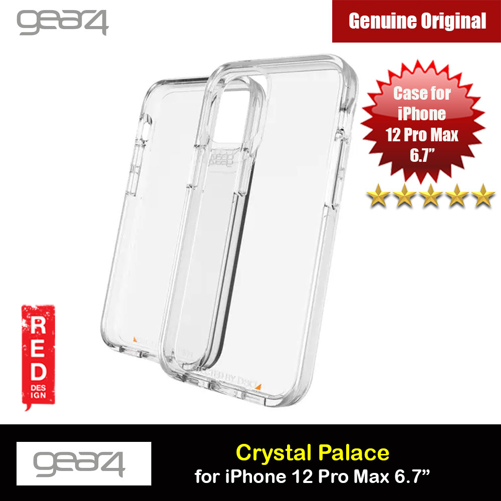 Picture of Gear4 D30 Crystal Palace Drop Protection Case for iPhone 12 Pro Max 6.7 (Clear) Apple iPhone 12 Pro Max 6.7- Apple iPhone 12 Pro Max 6.7 Cases, Apple iPhone 12 Pro Max 6.7 Covers, iPad Cases and a wide selection of Apple iPhone 12 Pro Max 6.7 Accessories in Malaysia, Sabah, Sarawak and Singapore