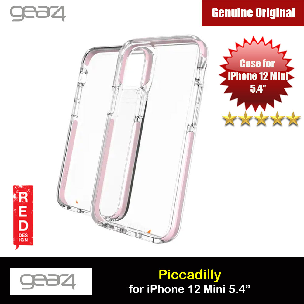 Picture of Gear4 D30 Piccadilly Drop Protection Case for iPhone 12 Mini 5.4 (Pink) Apple iPhone 12 mini 5.4- Apple iPhone 12 mini 5.4 Cases, Apple iPhone 12 mini 5.4 Covers, iPad Cases and a wide selection of Apple iPhone 12 mini 5.4 Accessories in Malaysia, Sabah, Sarawak and Singapore