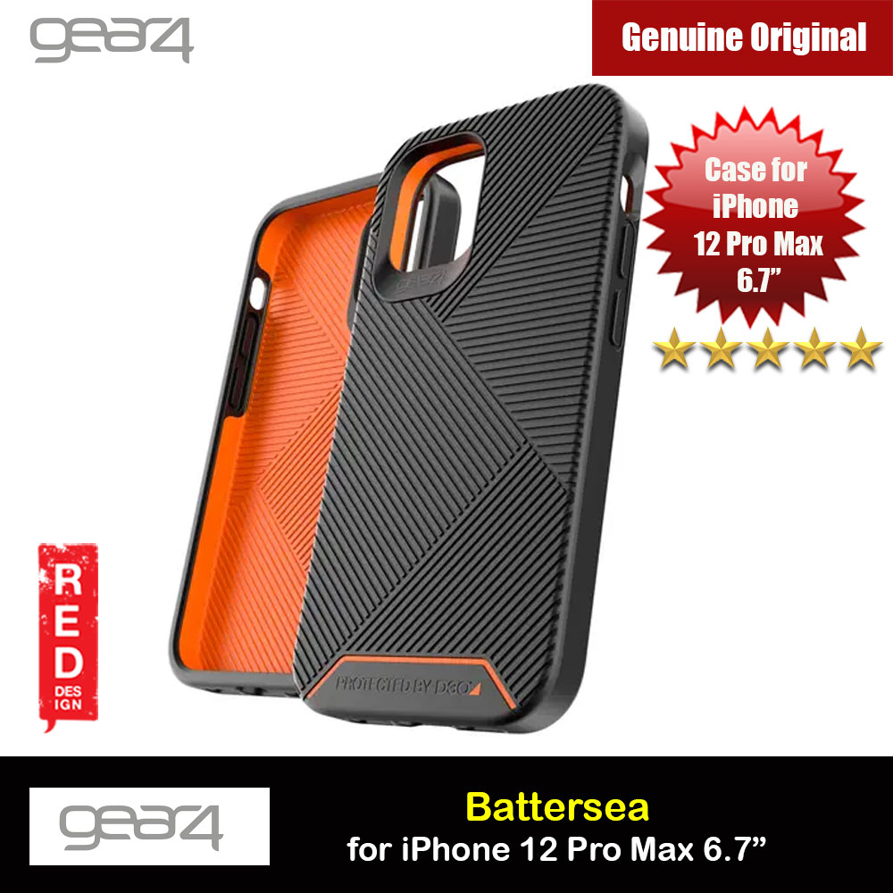 Picture of Gear4 D30 Battersea Drop Protection Case for iPhone 12 Pro Max 6.7 (Black) Apple iPhone 12 Pro Max 6.7- Apple iPhone 12 Pro Max 6.7 Cases, Apple iPhone 12 Pro Max 6.7 Covers, iPad Cases and a wide selection of Apple iPhone 12 Pro Max 6.7 Accessories in Malaysia, Sabah, Sarawak and Singapore