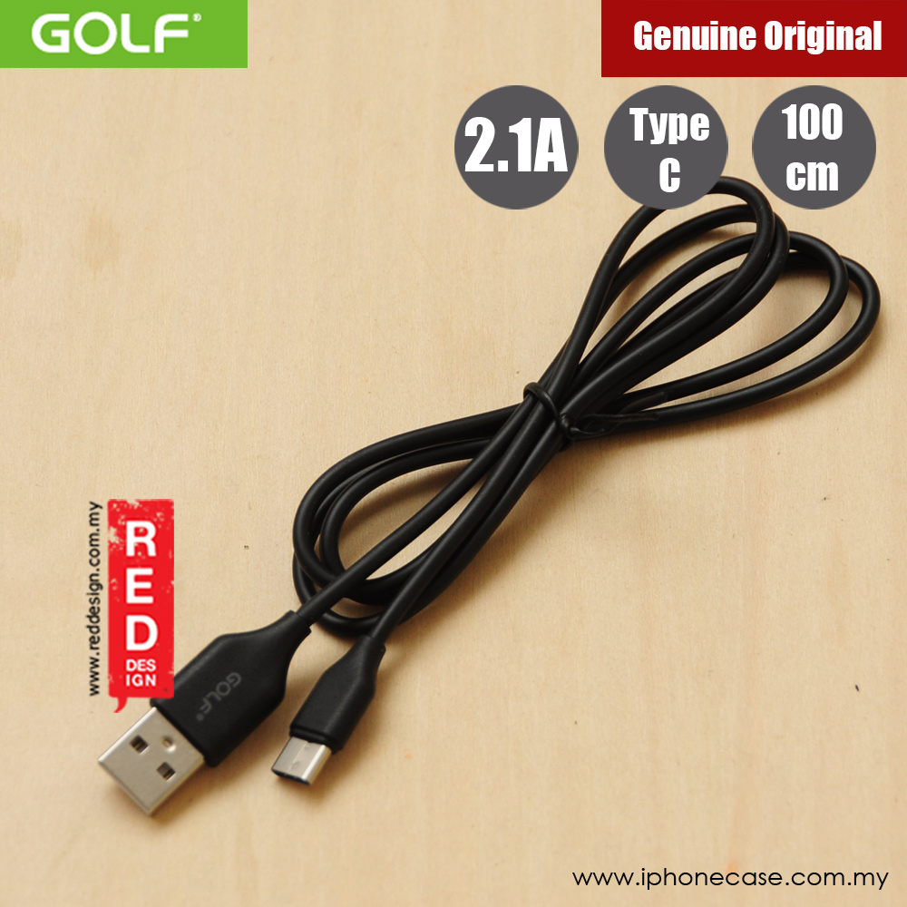 Picture of Golf Galloping Sync Charge Cable Compatible with Type C Smartphone (Black)