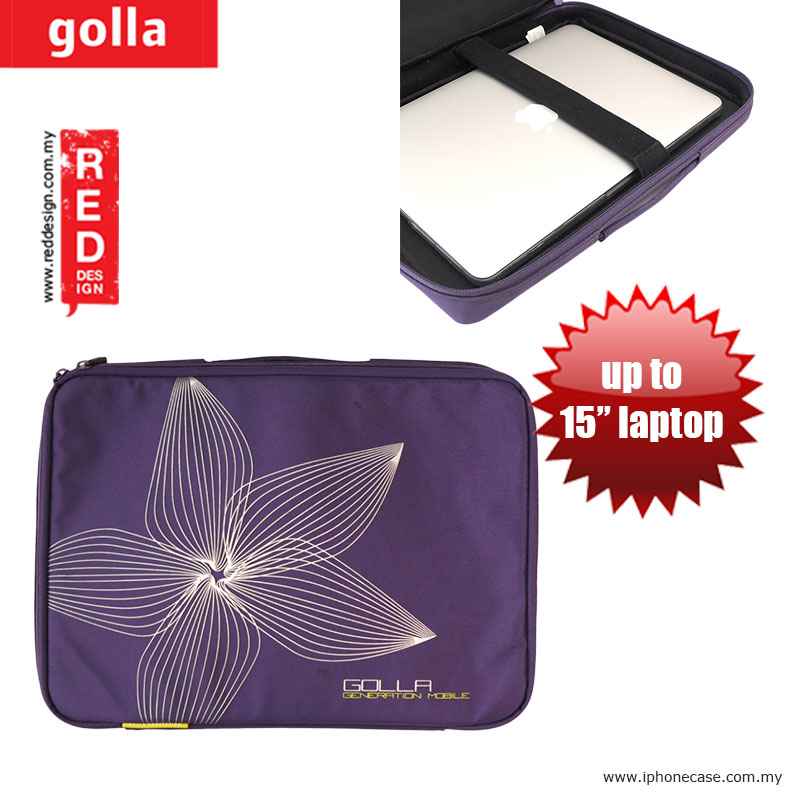 "Picture of Golla Sleeve for Notebook iPad Pro 12.9, iPad Air, iPad 4 and Tablets Laptop up to 15 inches - Purple G895 Apple MacBook Pro Retina 15""- Apple MacBook Pro Retina 15"" Cases, Apple MacBook Pro Retina 15"" Covers, iPad Cases and a wide selection of Apple MacBook Pro Retina 15"" Accessories in Malaysia, Sabah, Sarawak and Singapore"