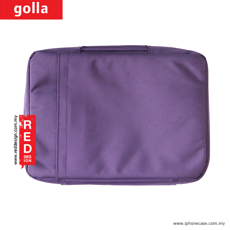 Picture of Apple New iPad 3rd Gen & 4th Gen  | Golla Pouch Sleeve for Notebook iPad Pro 9.7, iPad Air, iPad 4 and Tablets up to 10.2 inches - Purple