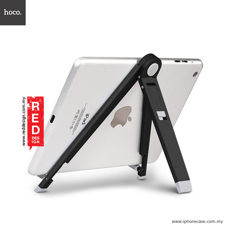 Picture of Hoco Tabletop Metal iPad Mini iPad Air Tablet Stand Holder - Black Red Design- Red Design Cases, Red Design Covers, iPad Cases and a wide selection of Red Design Accessories in Malaysia, Sabah, Sarawak and Singapore